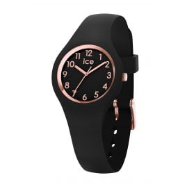 Ice-Watch 015344 Damenuhr Ice Glam Schwarz/Roségold XS
