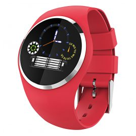 Atlanta 9703/1 Smartwatch with Touch Display Red