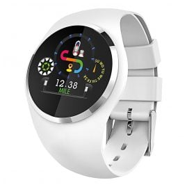 Atlanta 9703/0 Smartwatch mit Touchdisplay Weiß