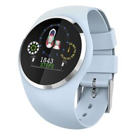 Atlanta 9703/5 Smartwatch mit Touchdisplay Hellblau