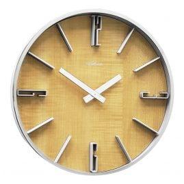 Atlanta 4426/30 Wall Clock Alder