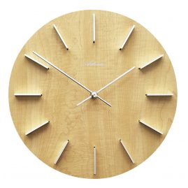 Atlanta 4419/30 Quartz Wall Clock Alder