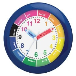 Atlanta 1265/5 Childrens Alarm Clock Blue