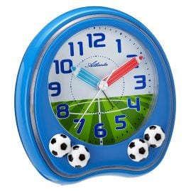 Atlanta 1719/5 Kids Alarm Clock Football
