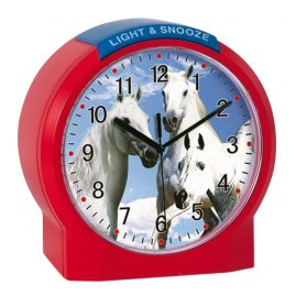 Atlanta 1189/1 Kids Alarm Clock Horses