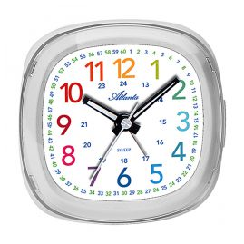 Atlanta 1736/0 Kids Alarm Clock White