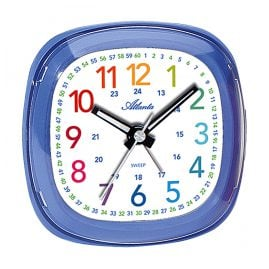 Atlanta 1736/5 Kids Alarm Clock Blue