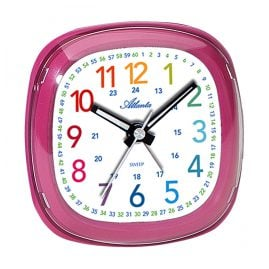 Atlanta 1736/8 Kids Alarm Clock Pink
