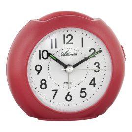 Atlanta 1933/1 Quartz Alarm Clock Red