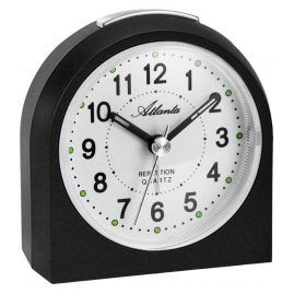 Atlanta 1673/7 Alarm Clock Black