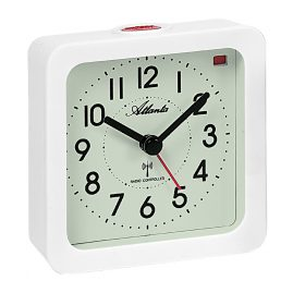 Atlanta 1854/0 Radio-Controlled Alarm Clock Luminous Dial