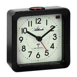 Atlanta 1854/4 Radio-Controlled Alarm Clock with Luminous Dial
