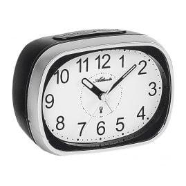 Atlanta 1793/19 Radio-Controlled Alarm Clock with Bell Signal