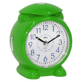 Atlanta 1985/6 Alarm Clock with Melody or Bell Sound Green