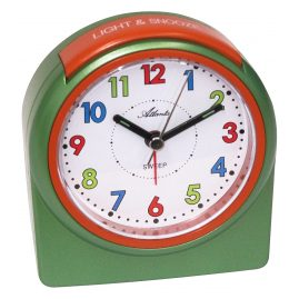 Atlanta 1987/6 Kids Alarm Clock with Light and Snooze