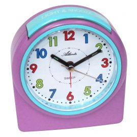 Atlanta 1987/17 Children's Alarm Clock with Light and Snooze