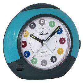 Atlanta 1526/6 Kids Alarm Clock Turquoise