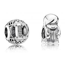 Pandora 08218 Charms Vintage I und Kleiner Junge
