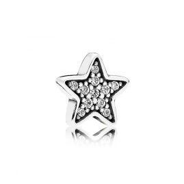 Pandora 792157CZ Wishing Star Petite Locket Element