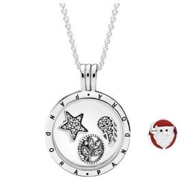 Pandora 08357-60 Medallion Heavenly Elements + Free Santa Claus