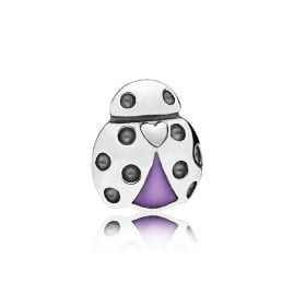 Pandora 797050EN159 Petite Locket Charm Ladybug