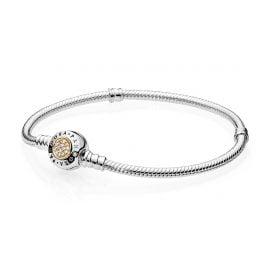 Pandora 590741CZ Ladies Bracelet Pandora Logo