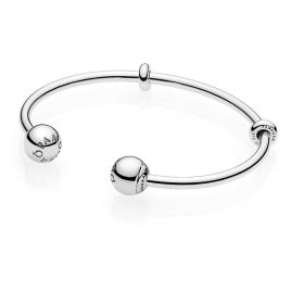 Pandora 596477 Ladies Bangle with Logo