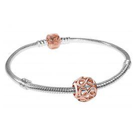 Pandora 08332 Starter-Armband Unendlichkeit Rosé