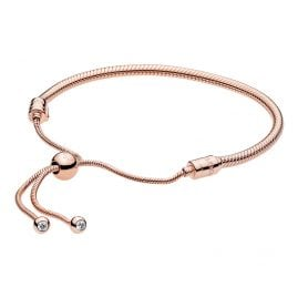 Pandora 587125CZ-2 Armband Moments Sliding Rosé