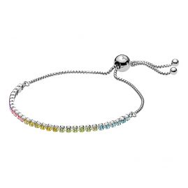 Pandora 590524PCZMX Ladies' Bracelet Sparkling Strand Multi-Colour