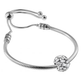 Pandora 08660 Armband-Set Moments Sliding und Chiselled Elegance