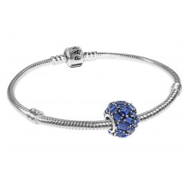 Pandora 08674 Bracelet Set Chiselled Elegance Sea Blue