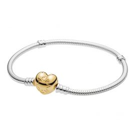 Pandora 560719 Bracelet Moments Silver & Shine Heart