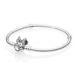 Pandora 597770CZ Bracelet Shimmering Minnie Portrait