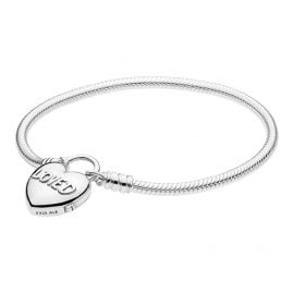Pandora 597806 Bracelet Moments & You Are Loved Heart