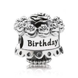 Pandora 791289 Silver Charm Birthday Cake