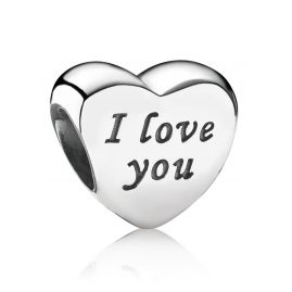 Pandora 791422 Charm Herz I Love You