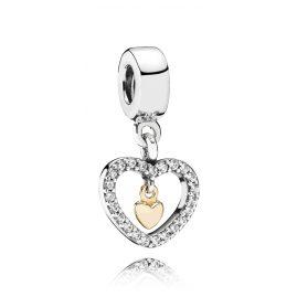 Pandora 791421CZ Charms Pendant Sparkling Love