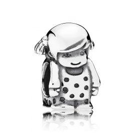 Pandora 791531 Charm Kleines Mädchen