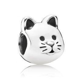 Pandora 791706 Charm Curious Kitten