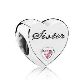 Pandora 791946PCZ Charm Schwesterherz