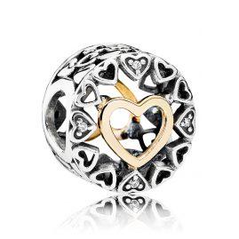 Pandora 792009CZ Charm Kreis der Liebe