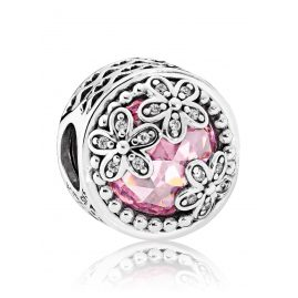 Pandora 792055PCZ Charm Sparkling Daisy Lawn