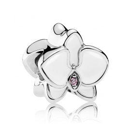 Pandora 792074EN12 Charm Weiße Orchidee