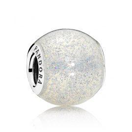 Pandora 796327EN144 Charm Silberglänzende Kugel