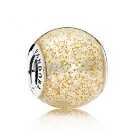 Pandora 796327EN146 Charm Goldglänzende Kugel