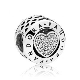 Pandora 796218CZ Charm Logo Herz