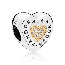 Pandora 796233CZ Charm Logo Herz
