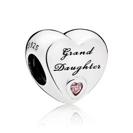 Pandora 796261PCZ Charm Grand Daughter Herz