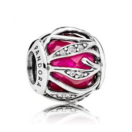 Pandora 791969SRU Charm Royal Red Nature's Radiance